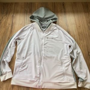 Woman's champion jacket lightweight track